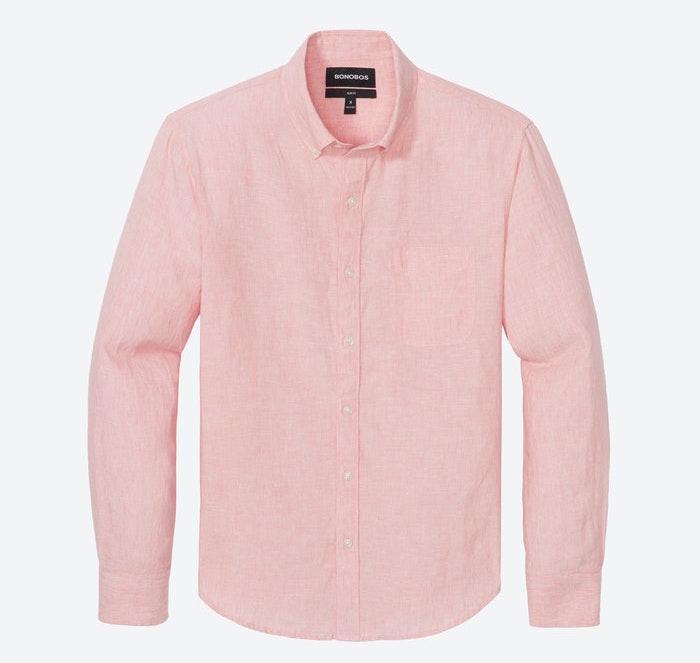 bonobos washed linen shirt