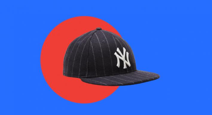 men's fitted cap