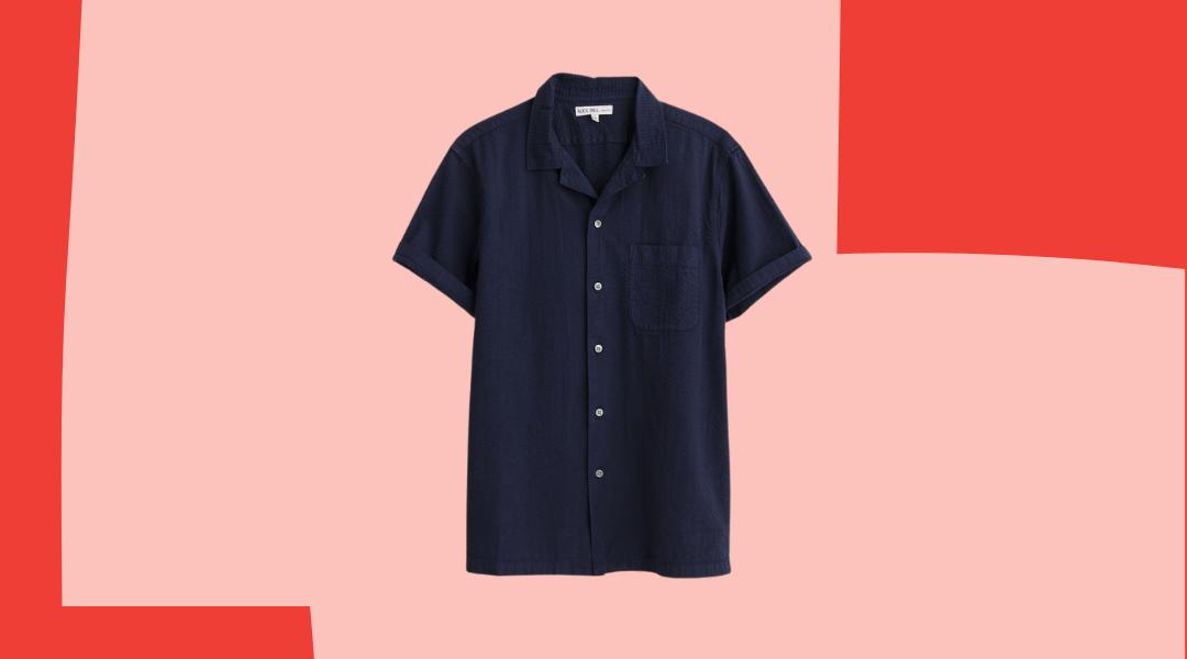Alex Mill men's camp shirt 2021