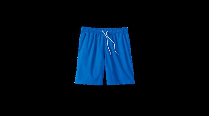 Lands End blue swim trunks