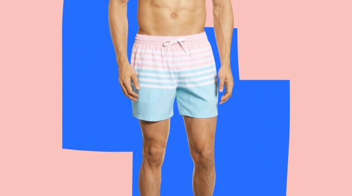 chubbies pastel stripe swim trunks