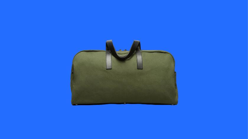 everlane twill weekender bag