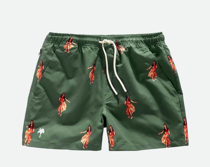 OAS Honolulu swim shorts