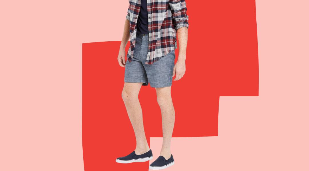Target 7-inch shorts for men