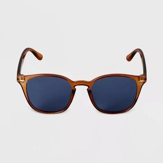 Target Goodfellow & Co crystal square sunglasses