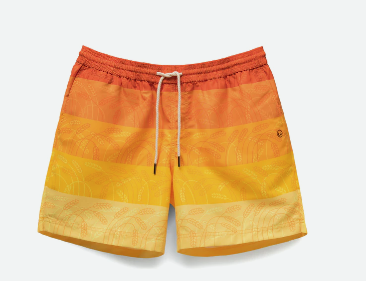 weekends at cereal sunrise swim trunks