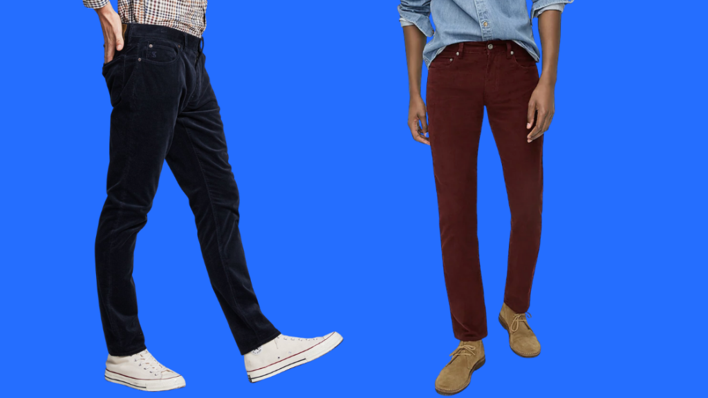 corduroy pants outfits for men