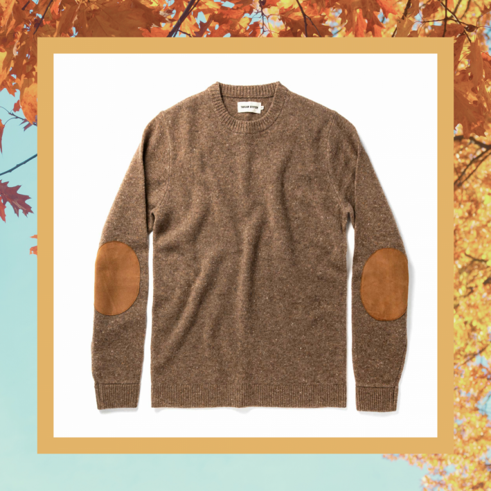 taylor stitch donegal sweater