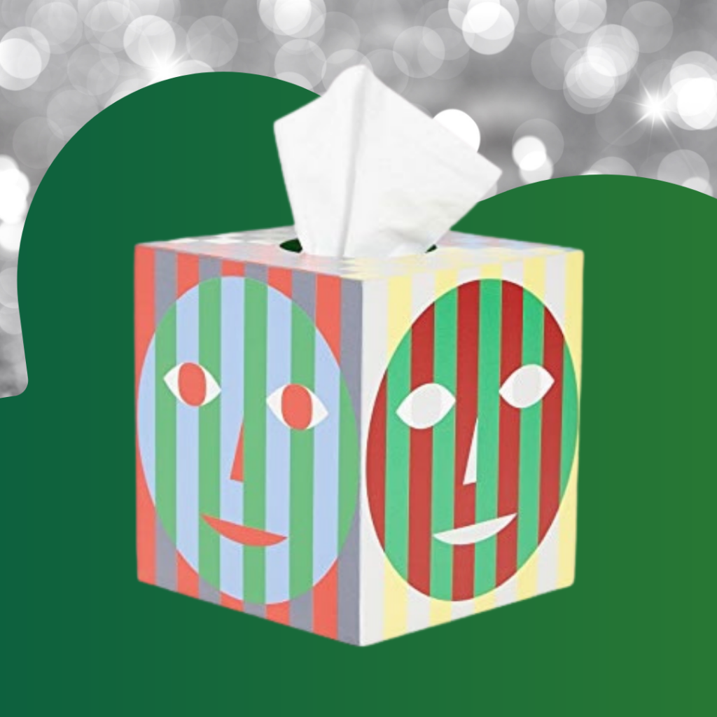 Dusen Dusen for Areaware tissue box, $35