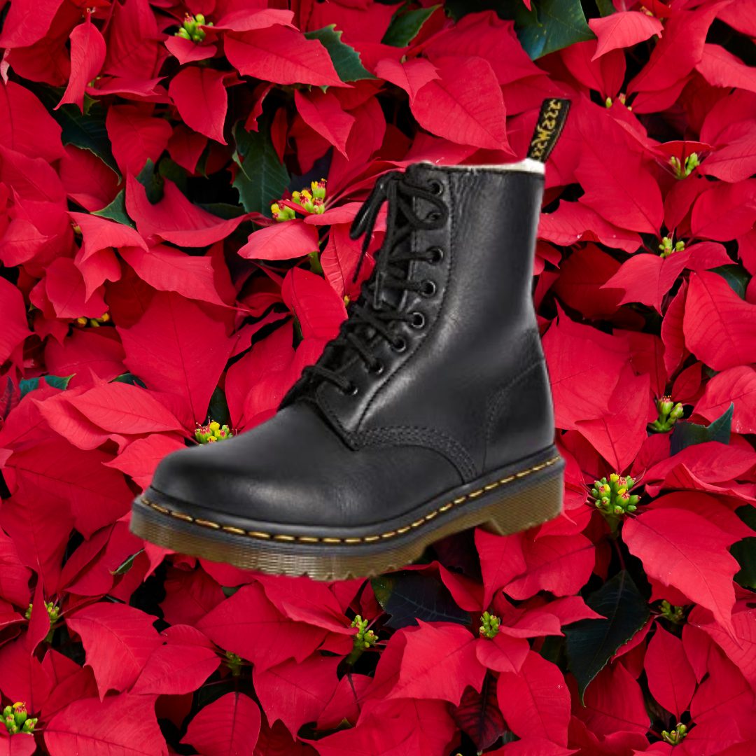 sherpa-lined dr martens