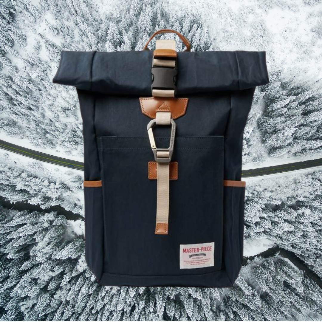 Master-Piece navy backpack