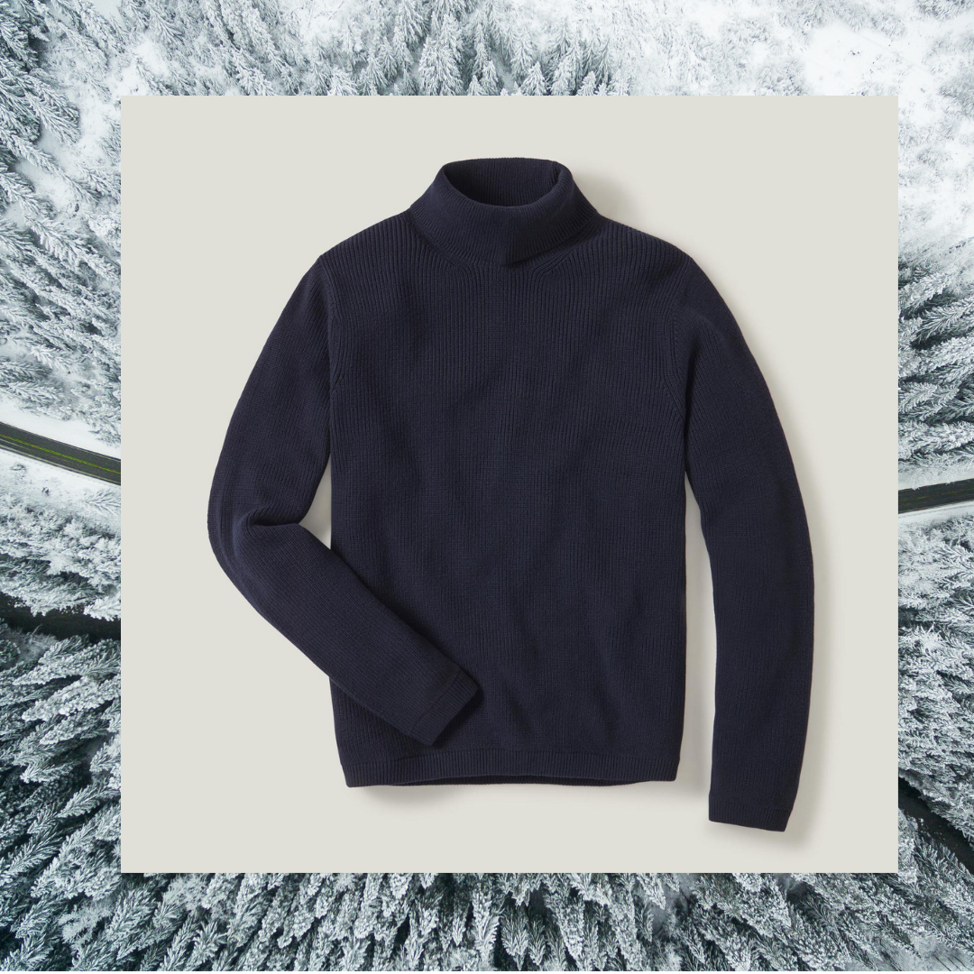 Buck Mason turtleneck sweater