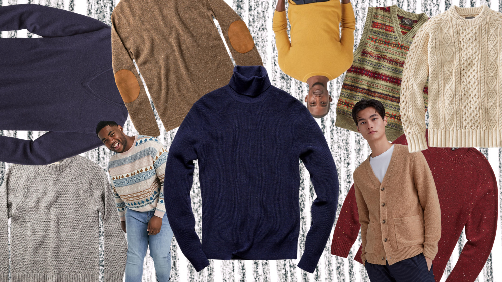 men's sweater outfits