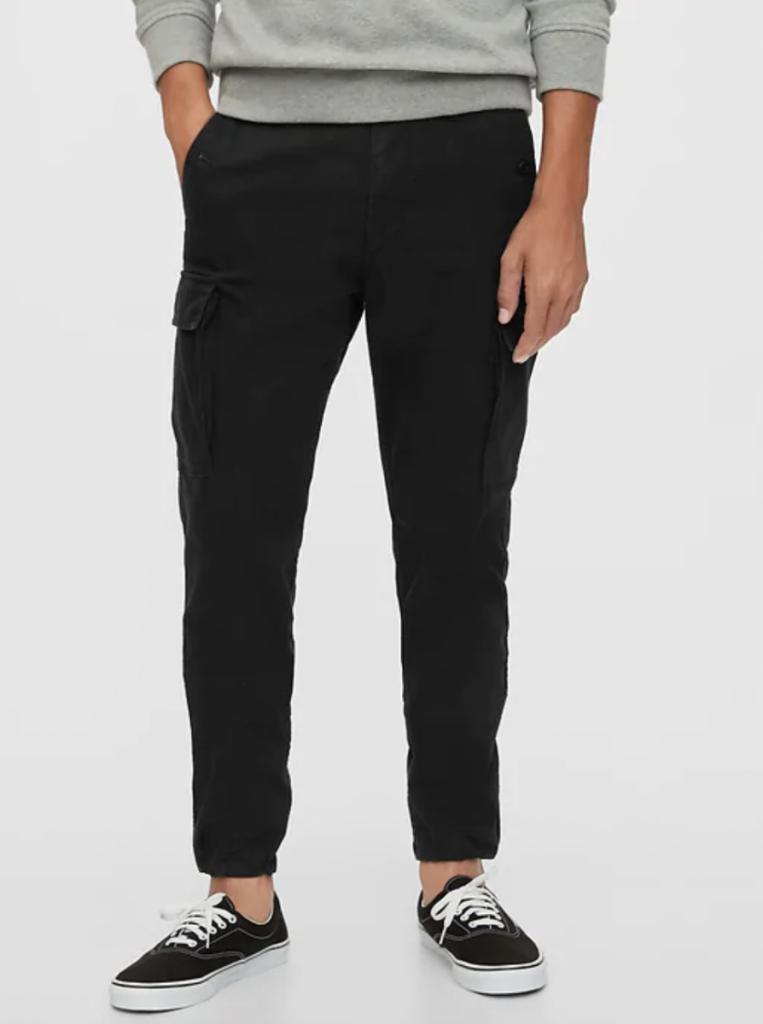Gap black cargo pants