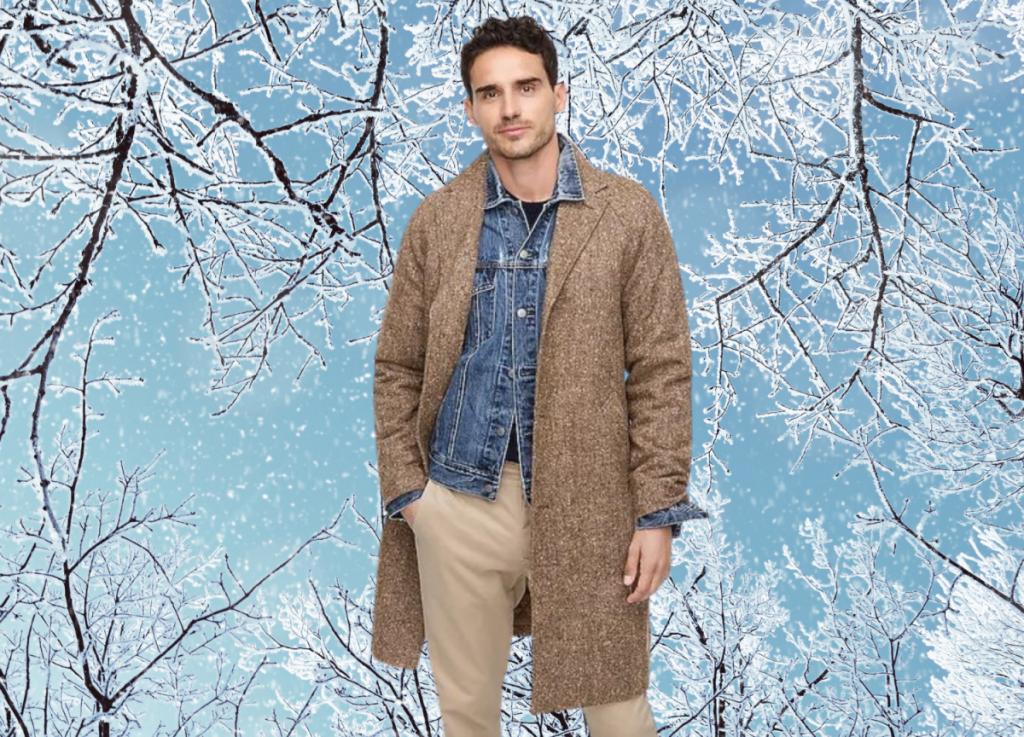 J.Crew Ludlow raglan-sleeve insulated topcoat in English wool
