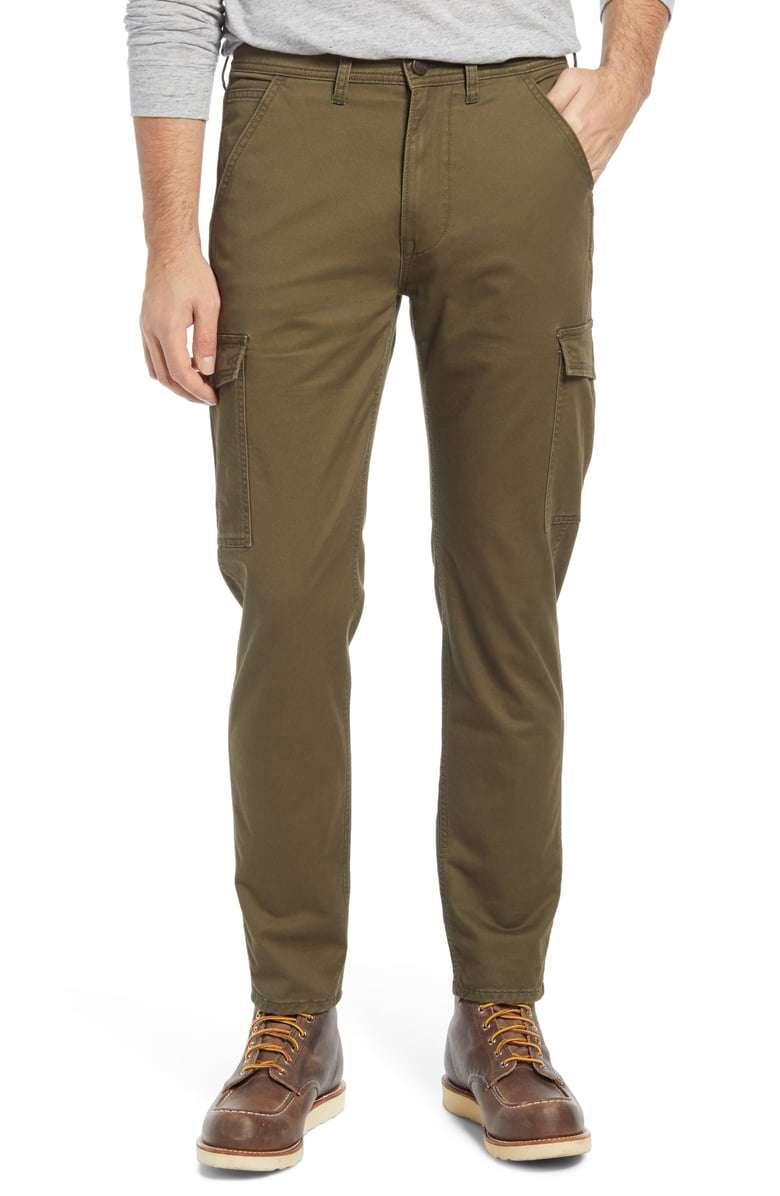 Lee Regular Tapered Leg Twill Cargo Pants