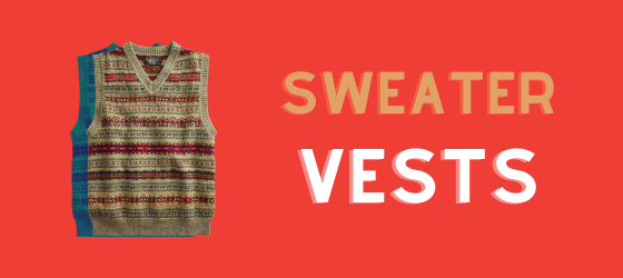 about men's sweater vests
