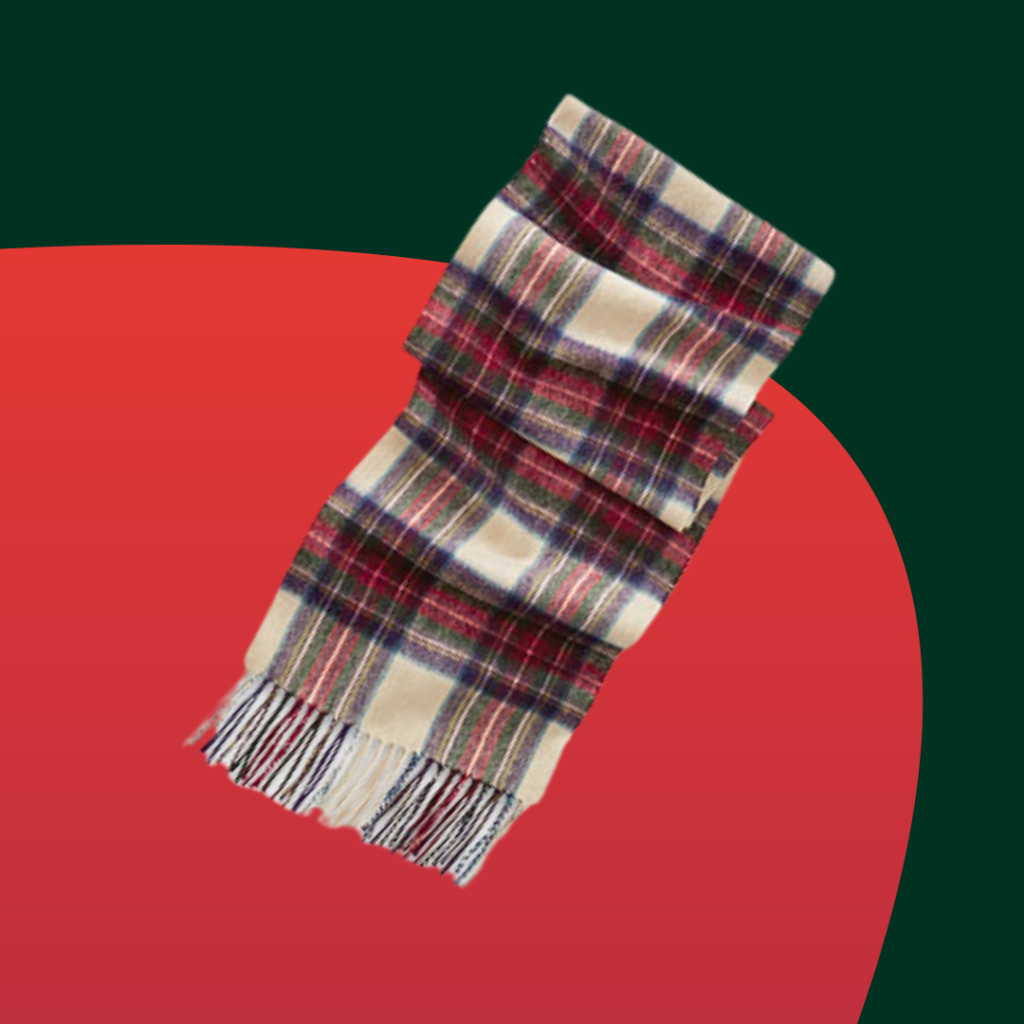 Orvis lambswool scarf