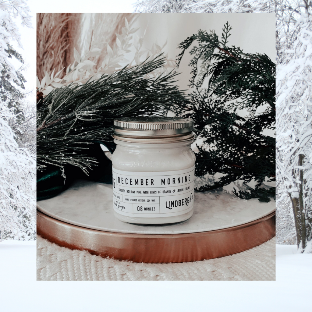 Lindbergh Candle Company December Morning scent