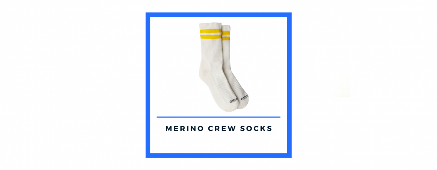 olivers merino crew socks