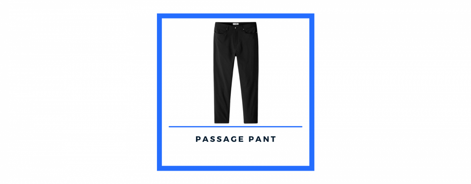 Olivers Apparel passage pant in black