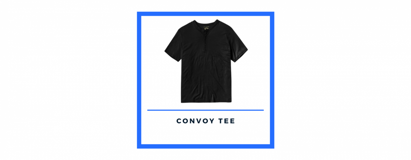 olivers apparel black convoy tee