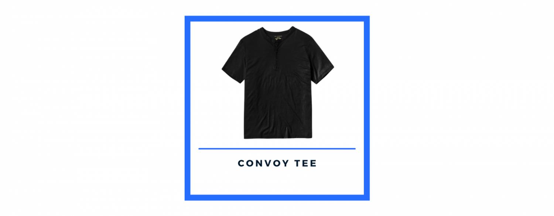 olivers apparel black convoy tee