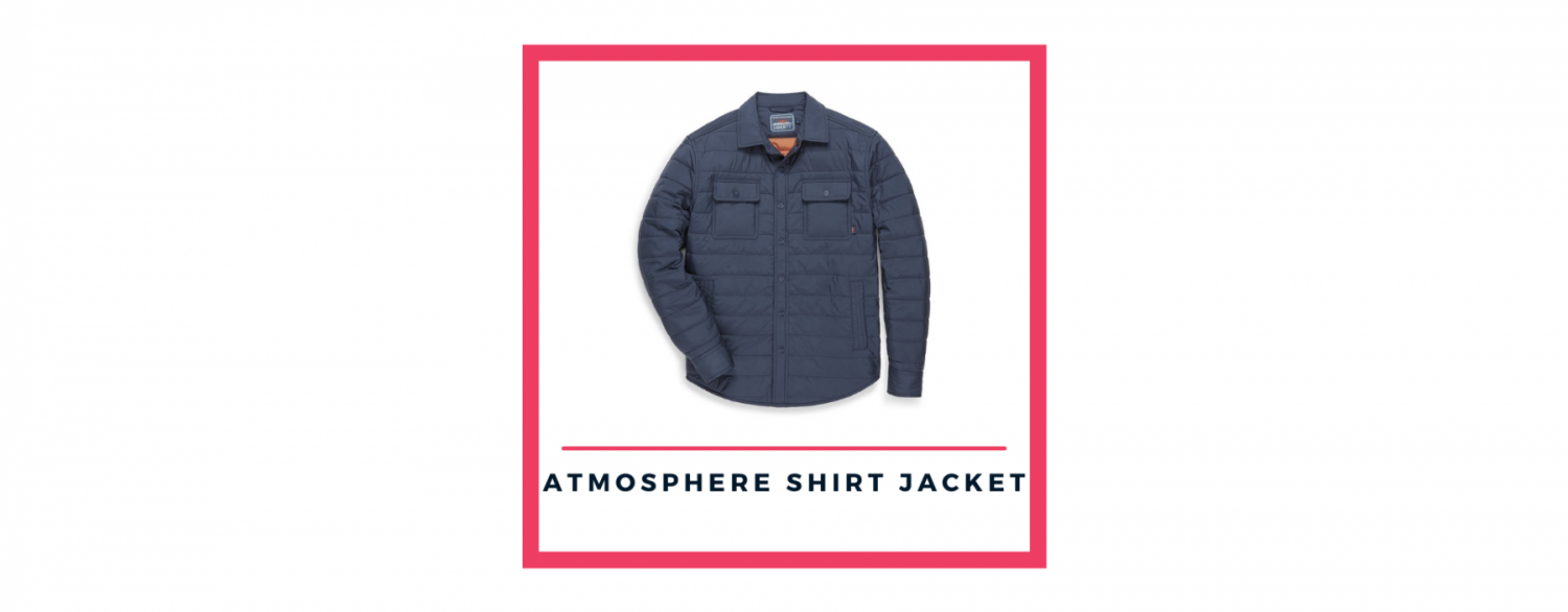 Faherty Atmosphere Packable Shirt Jacket