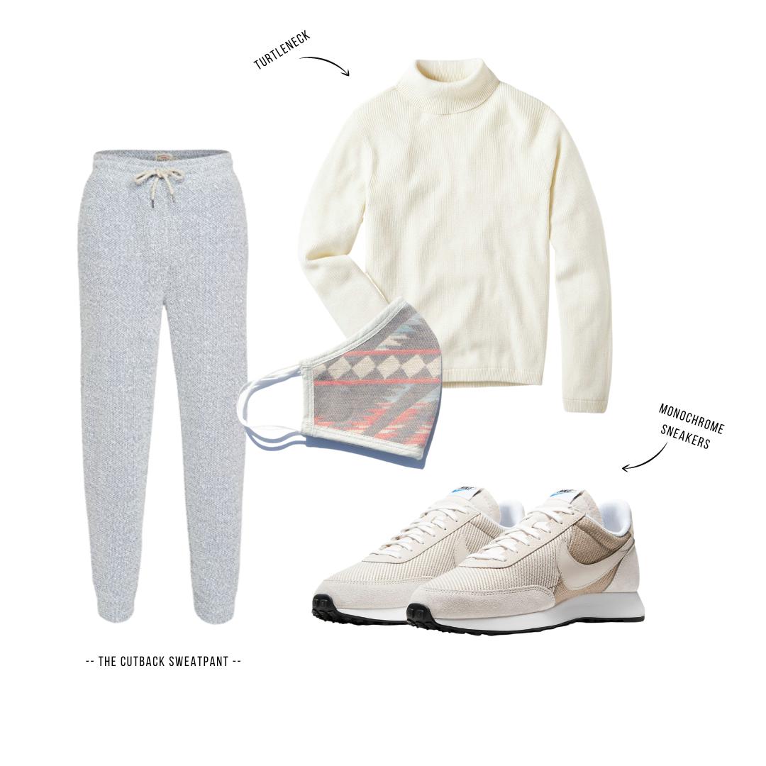 Faherty men's sweatpants outfits