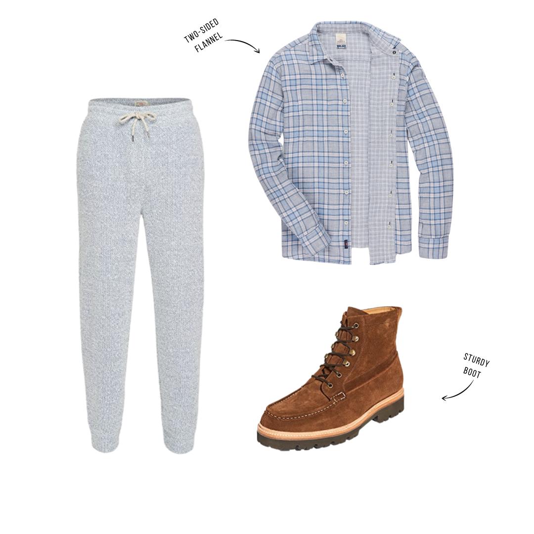 men's sweatpants outfit