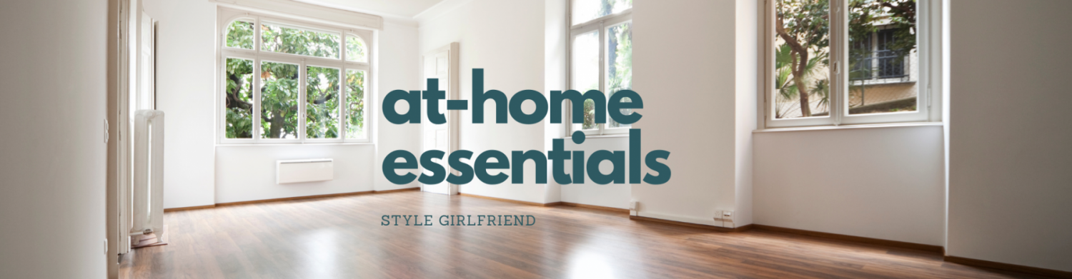 things guys need at home, at-home men's essentials, bachelor pad must-haves