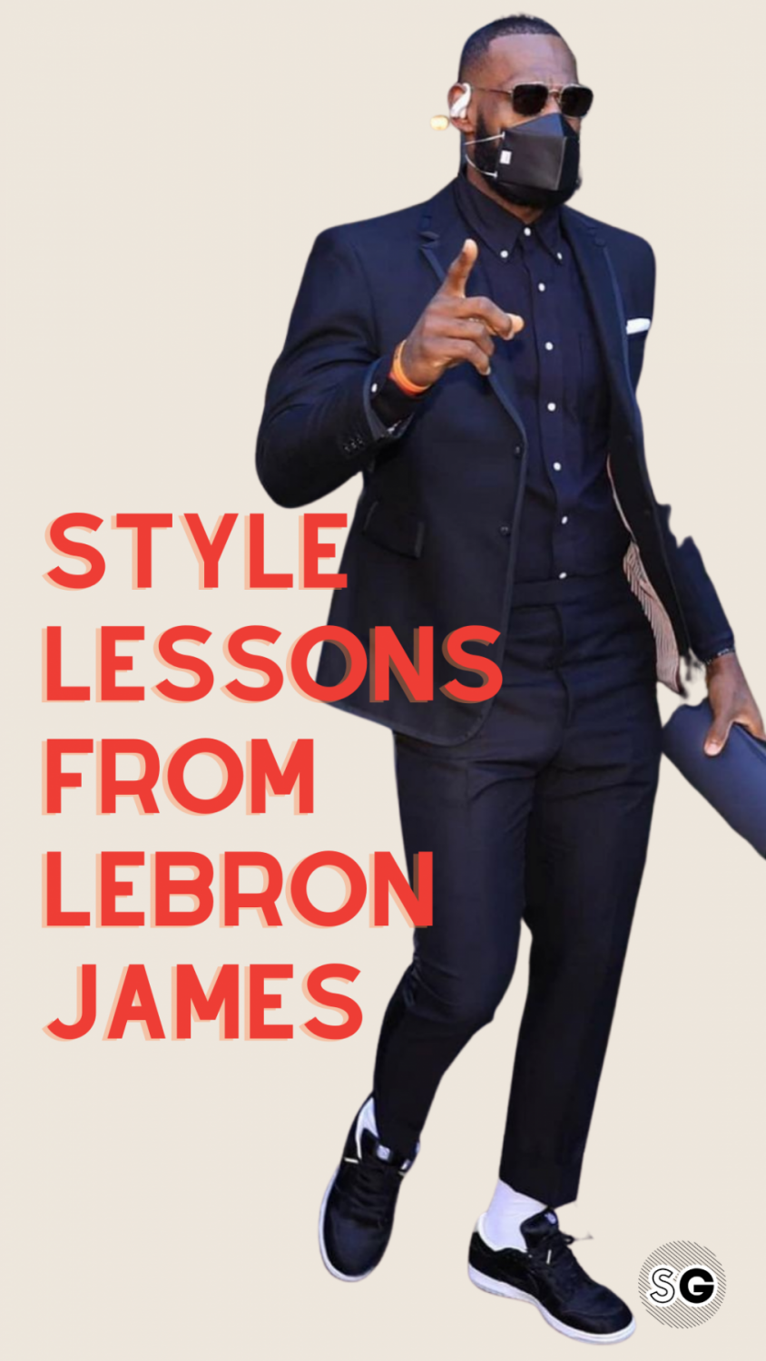 style lessons from LeBron James