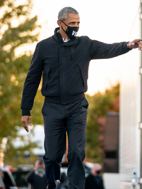 Barack Obama most stylish man of 2021