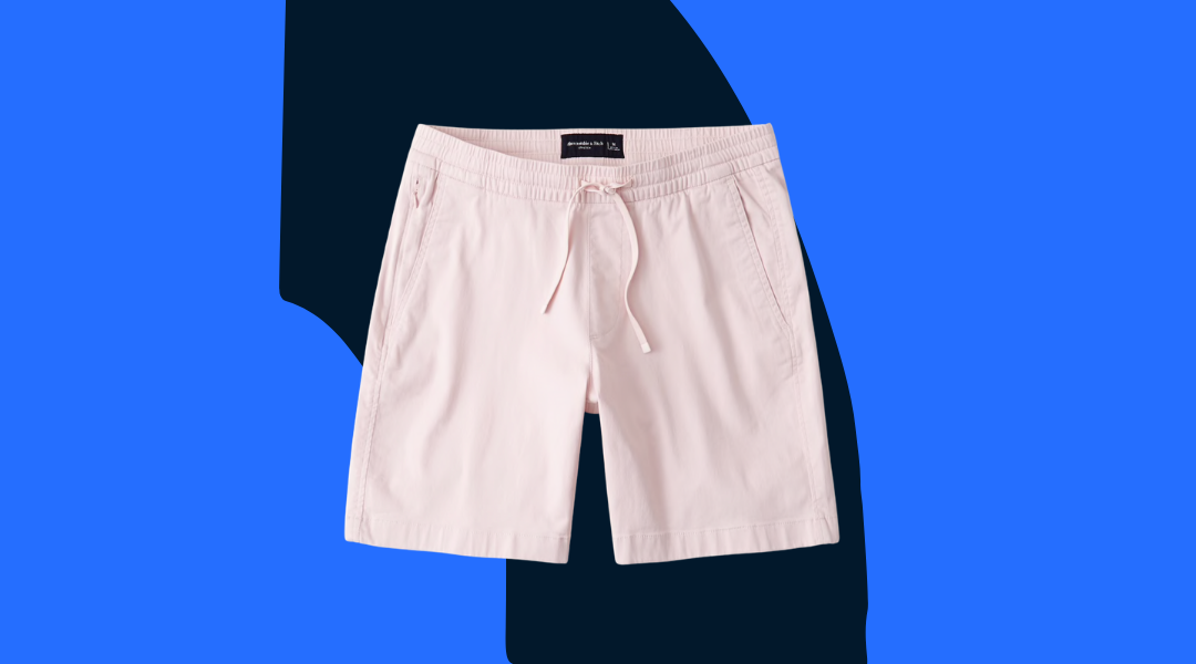 """Abercrombie & Fitch 7"""" Pull-On Shorts"""
