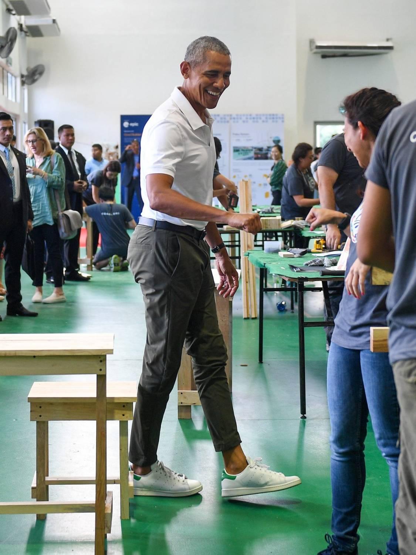 Barack Obama Stan Smith sneakers