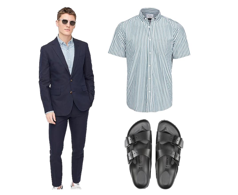 birkenstock outfit men