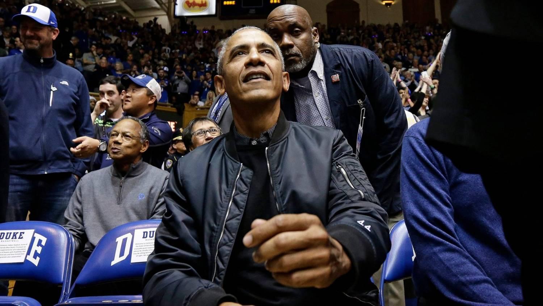 Barack Obama rag & bone bomber jacket