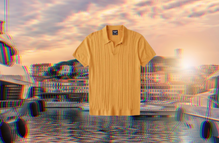 How to Wear a Knit Polo Shirt Outside of the French Riviera