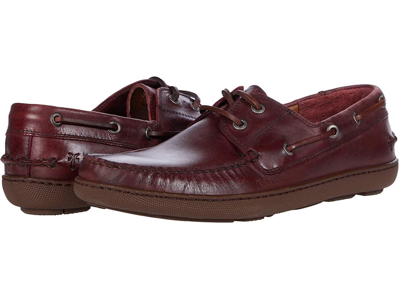 Frye boat shoe