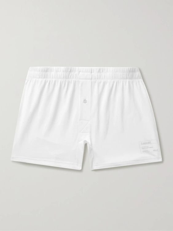 ENTIREWORLD Type B Version 2 Slim-Fit Organic Cotton-Jersey Boxer Shorts