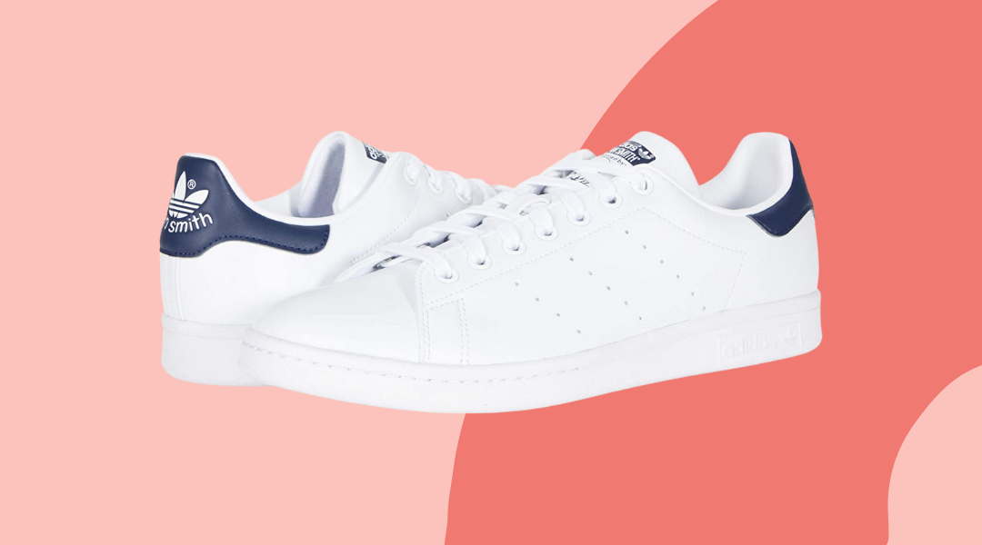 Adidas Stan Smith with navy accent, best men's sneakers for summer