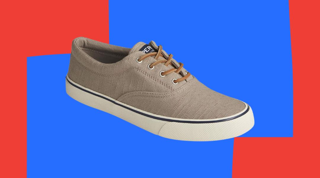 Sperry baja linen sneaker, best men's sneakers for summer