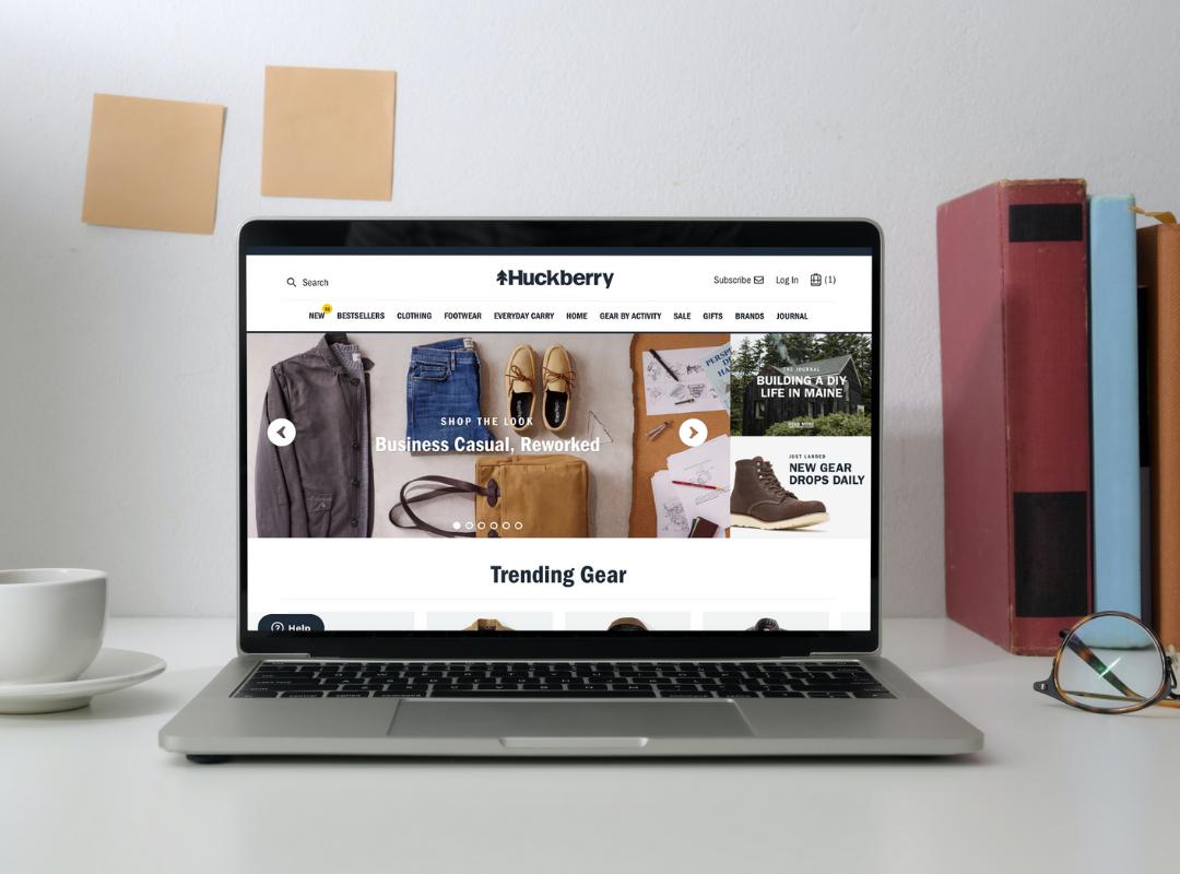 Huckberry online store