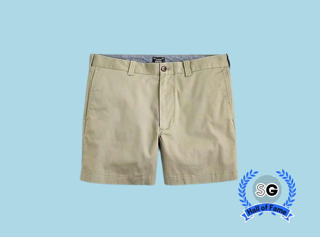 """j.crew men's 5"""" chino shorts"""