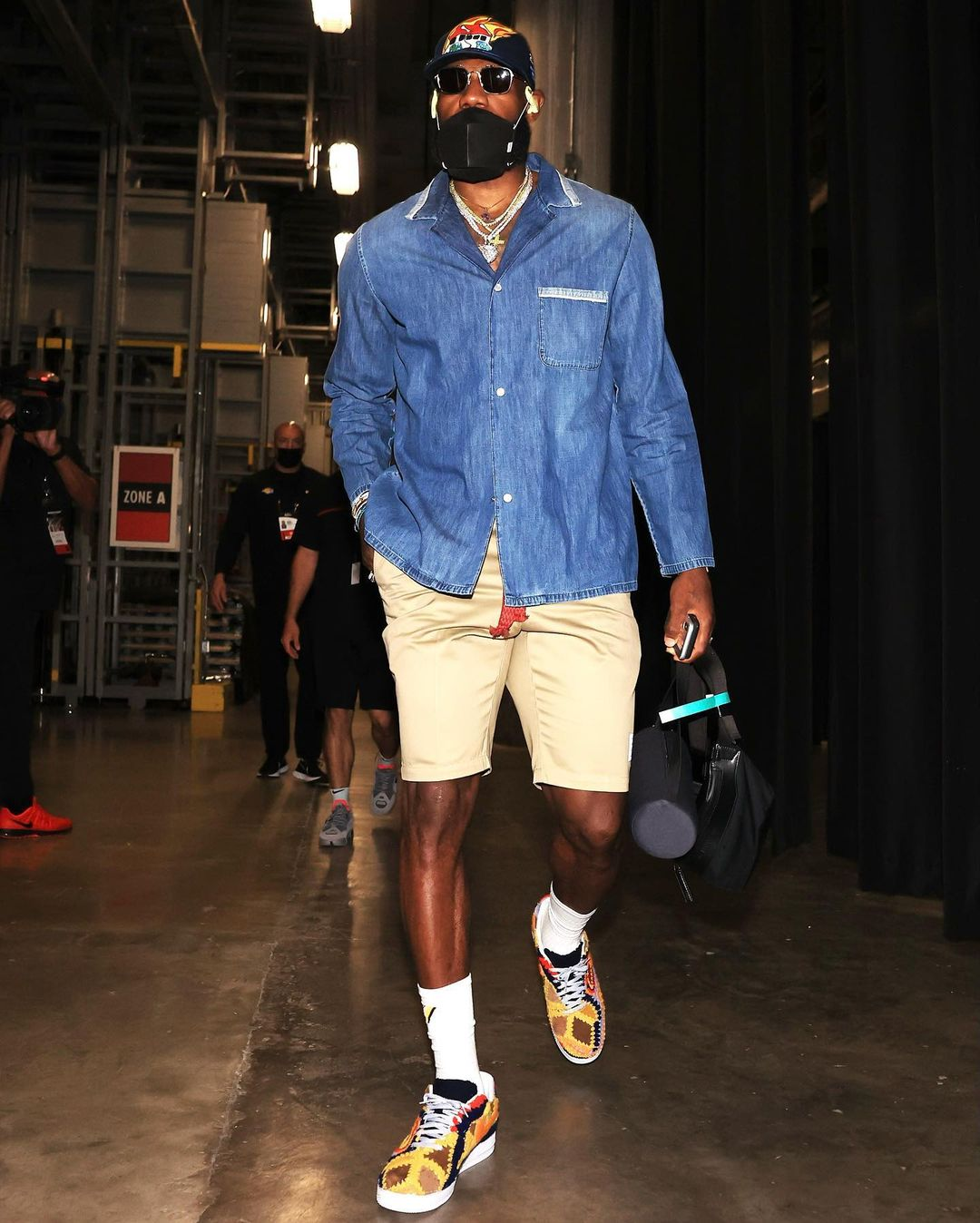 Lebron James shorts outfit