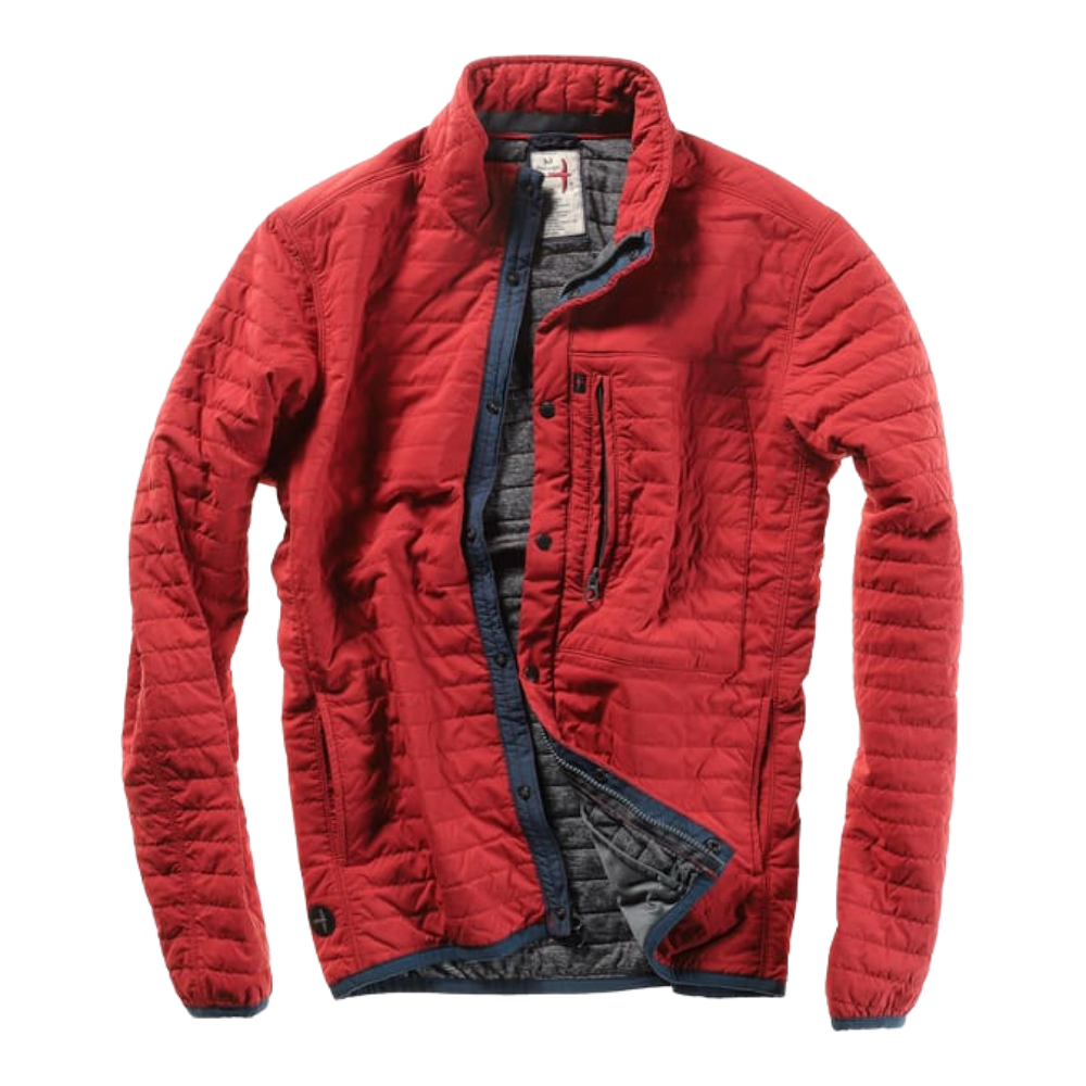 Relwen quilted jacket red