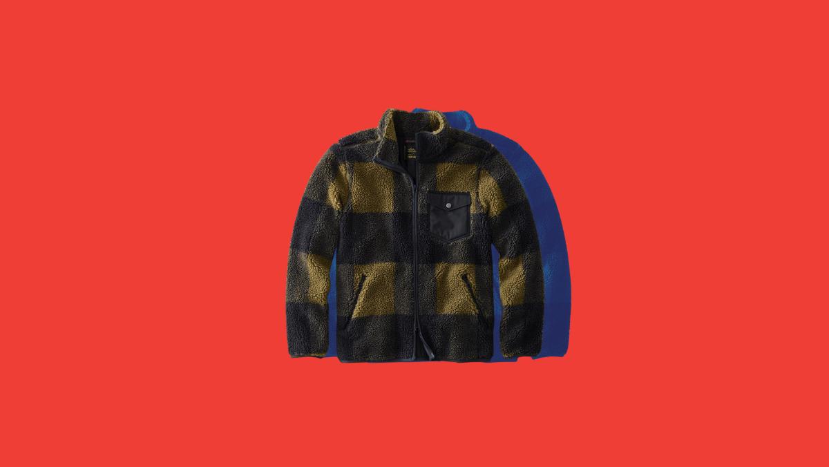 ll bean todd snyder sherpa jacket