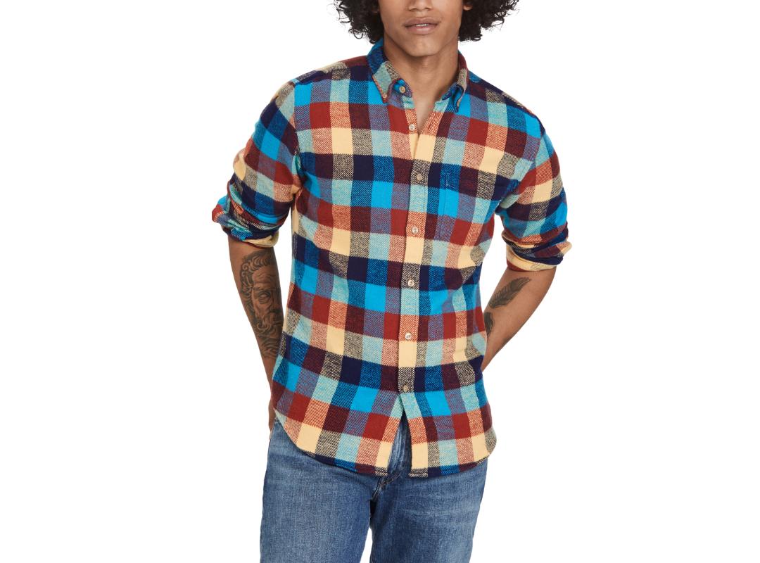 best men's plaid shirt